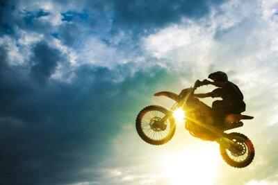 Póster Motocross Bike Jump