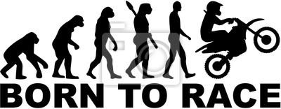 Motocross de la evolución. Nacido para correr.