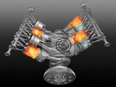 Póster Motor.