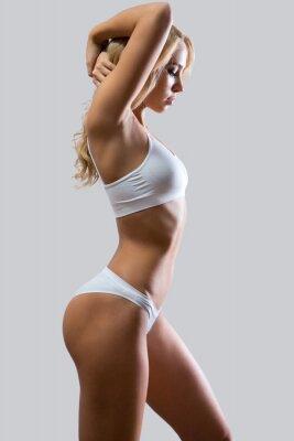 Póster Mujer de fitness