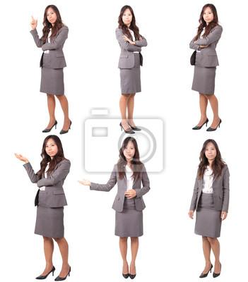 mujeres en diversas mensaje uniforme de la acción en los negocios