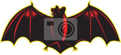 Murciélago de ala de murciélago