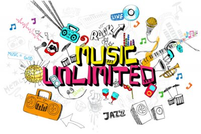 Póster Music Unlimited
