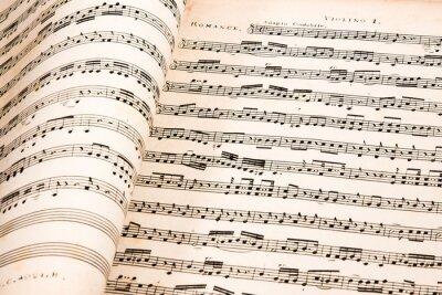 Póster Música