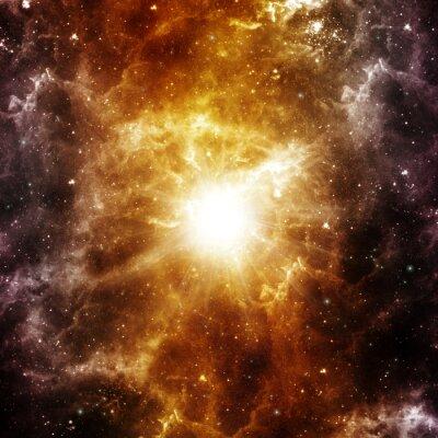 Póster Nacimiento de una estrella