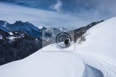 Neve sulla Ciaspolata