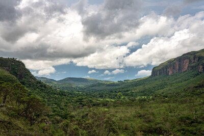 Nice landscape in Minas Gerais states in Brazil