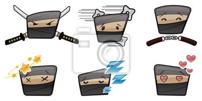 Póster Ninja Icons