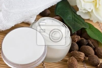 nueces de karité con crema de mantequilla de karité