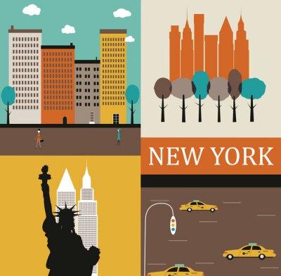 Póster Nueva York.