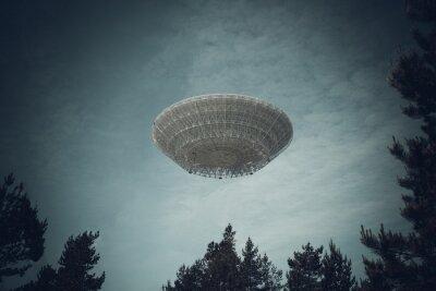 Póster Objeto volador no identificado