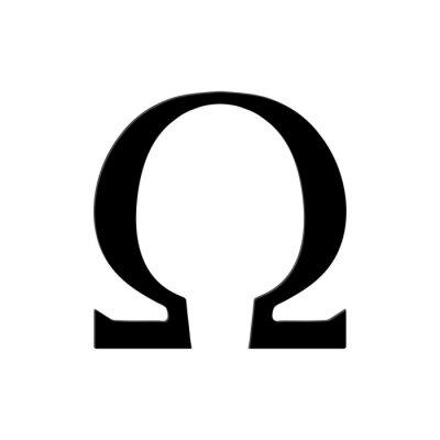 Póster Omega Symbol