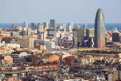 Opinión del pájaro de la Torre Agbar en Barcelona (España)