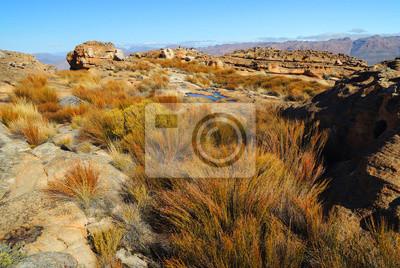 Paisaje de grietas Wolfberg en el Cederberg, República de Sudáfrica
