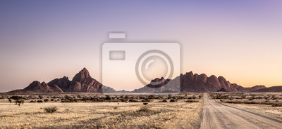 Paisaje de Spitzkoppe, Namibia.