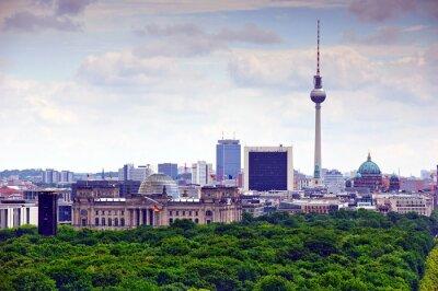 Póster paisaje urbano de Berlín