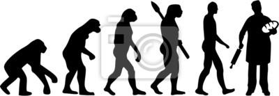 Panadero panadería Evolución