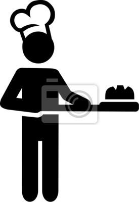 Panadero panadería Ilustración