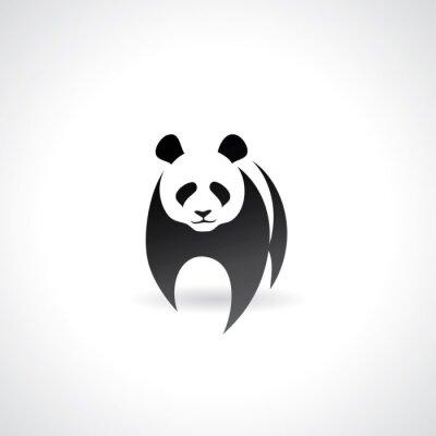 Póster Panda gigante