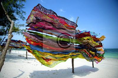Pañuelos de colores en Kenia
