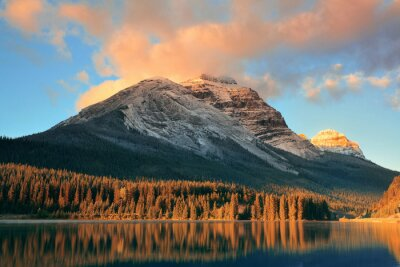 Póster Parque Nacional Banff