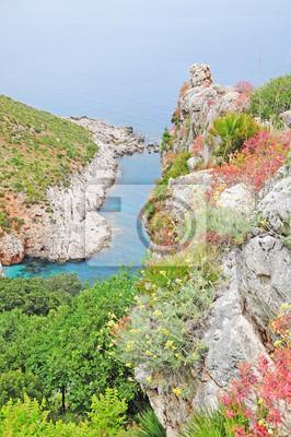 """Parque Nacional """"Zingaro"""". Sicilia. Italia."""