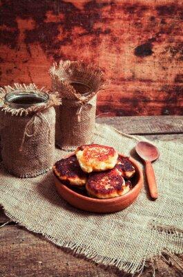 Póster Pasteles caseros de queso