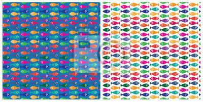 patrón de pesca de pequeña