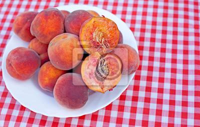 Peach en rodajas