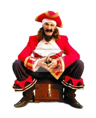 pecho del pirata