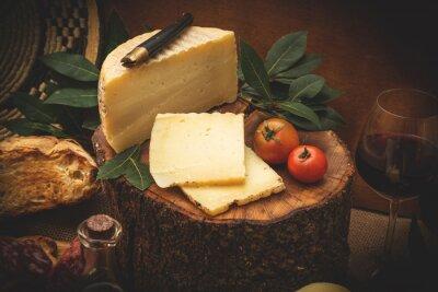 Póster Pecorino, formaggio di latte di Pecora