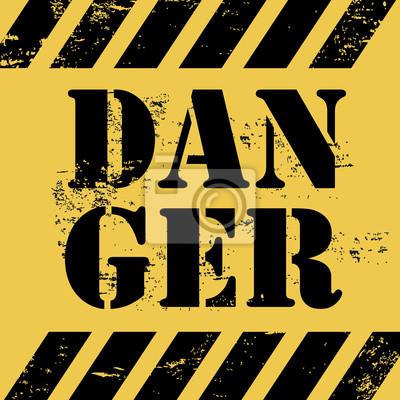 Póster peligro