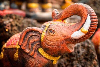 Póster Pequeña estatua de elefante