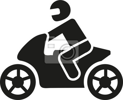 Pictograma de moto