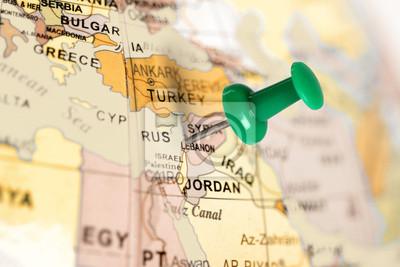 Pin verde en el mapa.