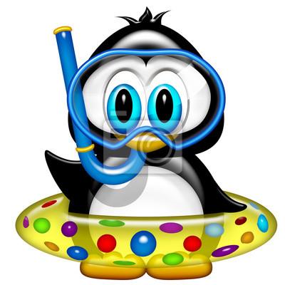 Pinguino al marepingino en la playapingouin  la plage 2