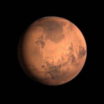 Póster Planeta Marte