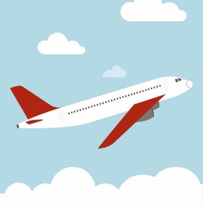 Plano del vuelo del vector