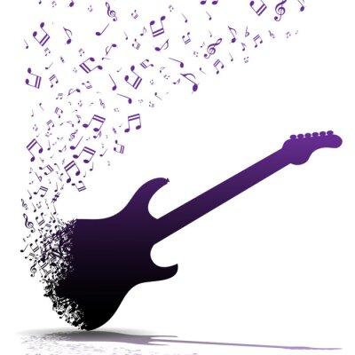 Póster Play guitar