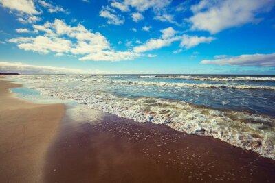 Póster Playa desierta