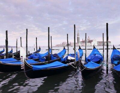 Póster Postal de Venecia