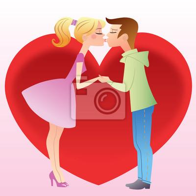 Primero besar a una chica y chico