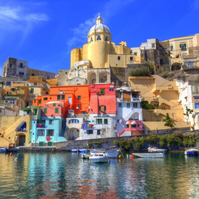 Póster Procida, Isola nel mar mediterraneo, Napoli