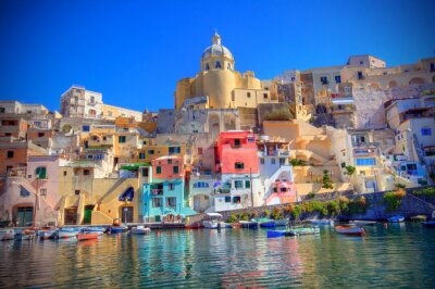 Póster Procida, Nápoles - Italia