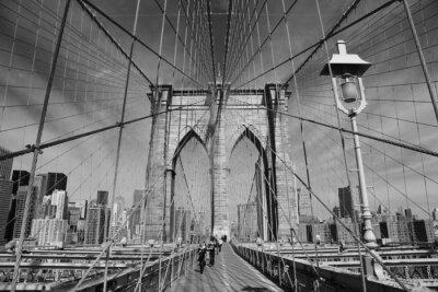 Póster Puente de Brooklyn, Nueva York