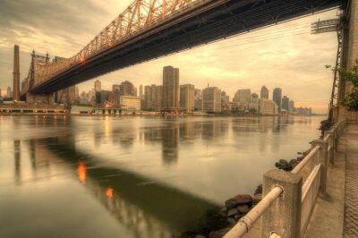 Póster Puente de Queensboro