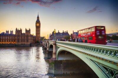 Póster Puente de Westminster