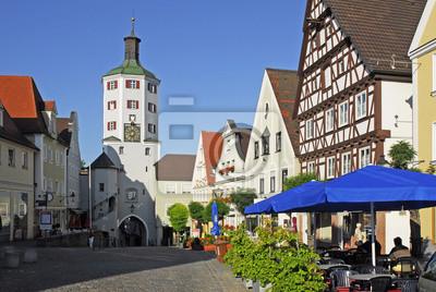 Puerta de la ciudad en el mercado