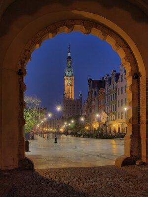 Puerta Verde - Gdansk, Polonia.
