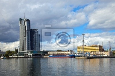Puerto de Gdynia, Polonia.